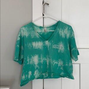 Cropped Tee Shirt JMU Volleyball
